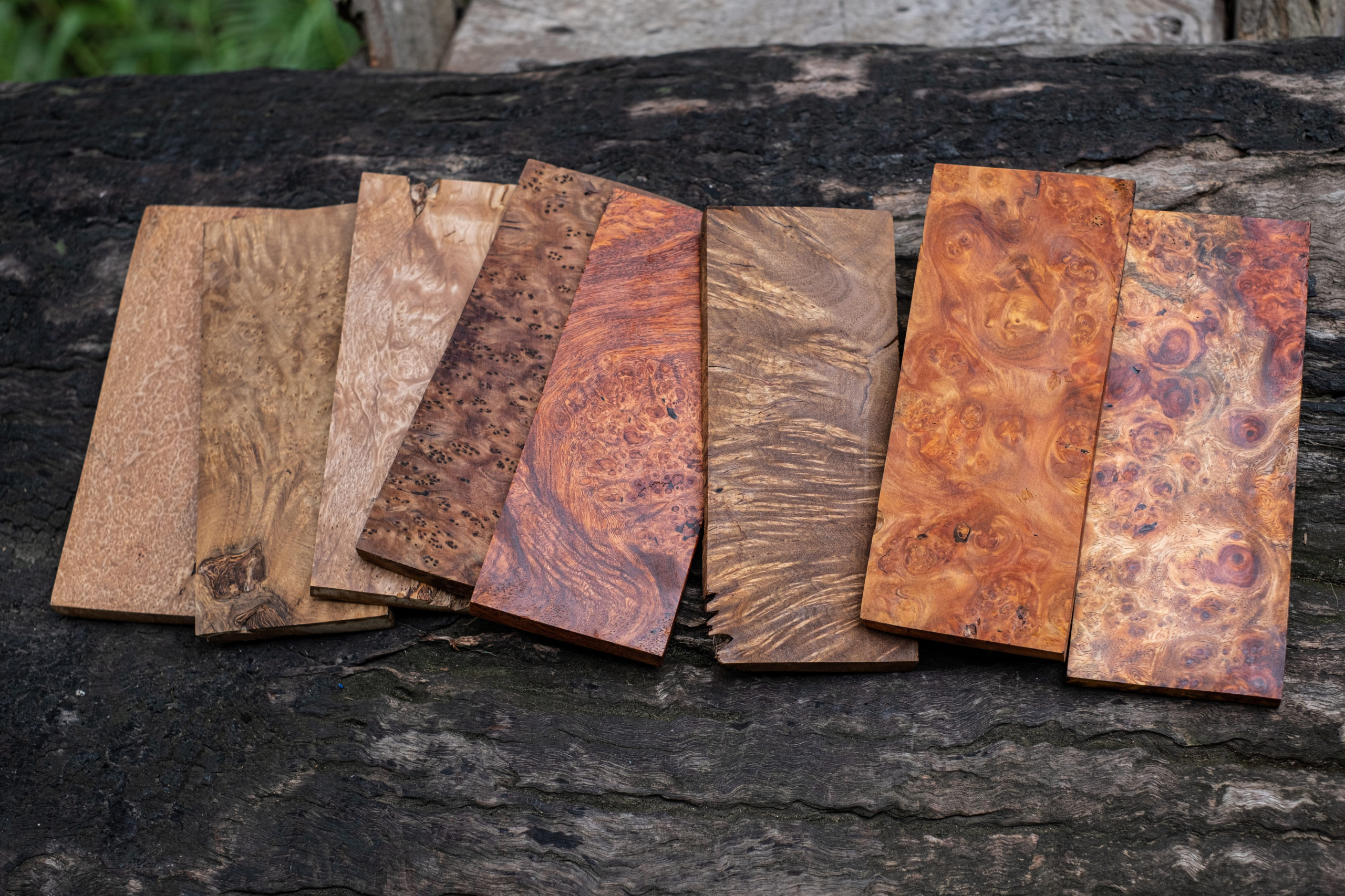 Exotic Wood Scraps for Sale